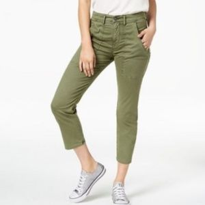 Hudson Leverage High Rise Ankle Cargo Pants